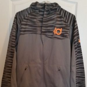 NIKE KD Therma-Fit Men's Large Full-Zip Hoodie